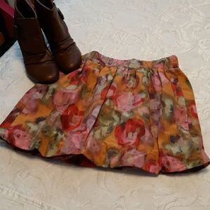 J.CREW Mini Bubble Skirt NWOT